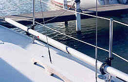 Spinnaker Pole Holder